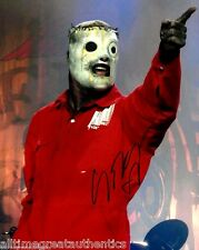 SINGER COREY TAYLOR HAND SIGNED SLIPKNOT 8X10 PHOTO E W/COA STONE SOUR #8 MASK