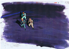 The Real Ghostbusters Original Production Animation Cel & Copy Bkgd #A14840