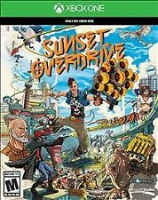 *NEW~FACTORY SEALED* Sunset Overdrive (Microsoft Xbox One, 2014)