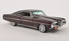 NEO Models 1:43 Pontiac Bonneville Hardtop Coupe, metallic dark red/matt black