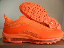 NIKE AIR MAX 97 HYPERFUSE TOTAL ORANGE-GREY SZ 11 SUPER RARE!! [518160-880]