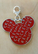 *ON SALE*Disney Mickey Mouse Charm  for  European Necklaces/Bracelets