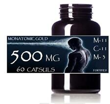 monatomic gold~ormus 60 capsules @500 mg each one month supply white gold manna