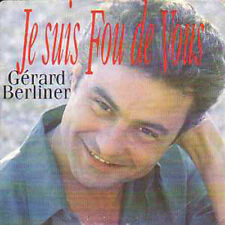 CD Single Gerard Berliner Je suis fou de vous + RARE +