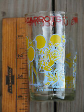 """1974 WARNER BROS INC """"WHAT'S UP DOC - FRESH CARROTS?"""" JELLY GLASS - SHIPS FREE"""