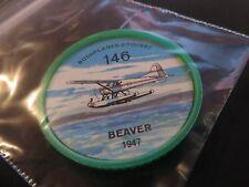 1961 JELL-O HOSTESS AIRPLANE SERIES COIN #146 1947 BEAVER HIGH GRADE