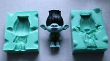 Silicone Mould 3D BRANCH TROLL Sugarcraft Cake Decorating fondant fimo mold