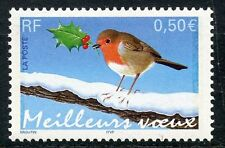 STAMP / TIMBRE FRANCE NEUF N° 3621 ** ROUGE GORGE / OISEAU / FAUNE