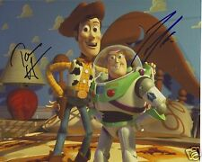 TOY STORY - TIM ALLEN & TOM HANKS AUTOGRAPH SIGNED PP PHOTO POSTER