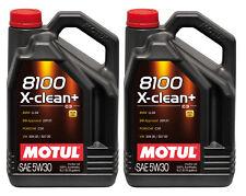 MOTUL Motoröl 8100 X-clean + 5W-30 2 x 5 L