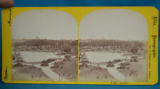 1860s Stereoview Public Garden Boston America By Edward L Allen Temple Place USA