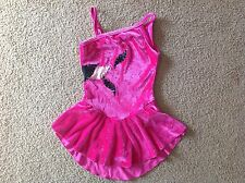 Girls Ice Figure Skating Competition Dress Size L