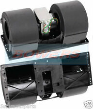 12V VOLT DOUBLE/TWIN BLOWER/FAN MOTOR/UNIT/ENCLOSURE 4 SPEED TRUCK BUS COACH