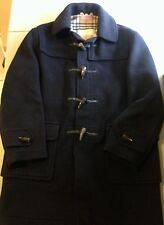 BURBERRY LONDON MEN'S COAT 100% WOOL TOGGLE - WORN ONCE - SIZE 50