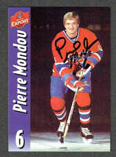 2000(to date) Molson Export Montreal Canadiens Autographed Pierre Mondou