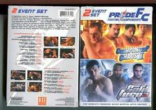 PRIDE FC: CHAMPIONSHIP CHAOS 2 & COLD FURY 3 (DVD, 2006, 4 DISCS) SEALED