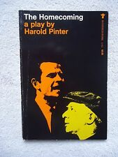 The Homecoming A Play by Harold Pinter (1989, Paperback)