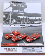 Limited Edition Brumm AS55 Box Set: Ferrari 330P3/P4 + 412P, 24 Hrs Daytona 1967