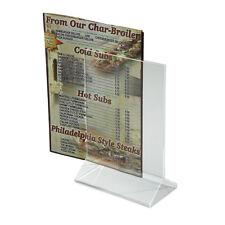Winco ATCH-46, 4x6-Inch Acrylic Menu Card Holder