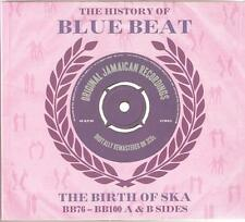 THE HISTORY OF BLUE BEAT THE BIRTH OF SKA - BB76 - BB100 A & B SIDES - 3 CD SET