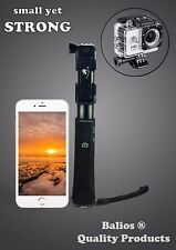 Premium Aluminium Alloy One-Piece Bluetooth Selfie Stick Monopod iPhone GoPro