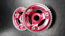 Brand New Onsoku HKS Honda Prelude H22a cam gears Red