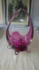 Flygsfors Coqulle Scandindvian Freeform Glass Sculpture
