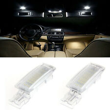 2PCS LED Interior Visor Vanity Mirror Light Lamp For VW Jetta Passat Tiguan Golf