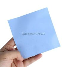 Heatsink Cooling Thermal Conductive Silicone Pad 100mmx100mmx2mm GPU CPU