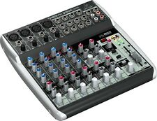 Behringer Xenyx Q1202USB 12 Channel PA Mixer with USB Interface - 3 YEAR WARRANT