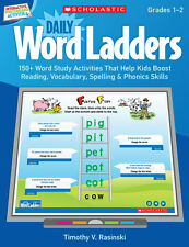 Daily Word Ladders 150 + Word Study Witeboard IWB Activities CD Grades 1 - 2 New