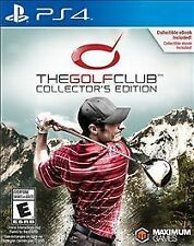 The Golf Club -- Collector's Edition (Sony PlayStation 4, 2015)