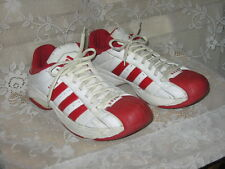 ADIDAS SS2G SUPERSTAR 2G RED WHITE LEATHER SNEAKERS MEN'S 10