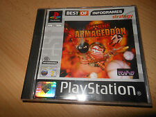 WORMS ARMAGEDDON - SONY PLAYSTATION PSONE PS1 GAME - MINT COLLECTORS