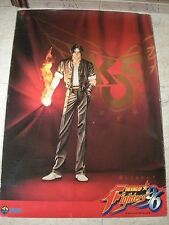 THE KING OF FIGHTERS 96 KOF 96 NEO GEO NEOGEO AES MVS POSTER ORIGINAL SNK USADO