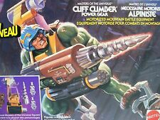 D0593041 CLIFF CLIMBER MISB MINT IN FACTORY SEALED BOX HE-MAN MOTU FRENCH TEXT