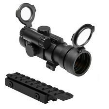 NcStar 30mm Red Dot Scope Sight With Mount Fits Tippmann A5 98 Paintball Markers