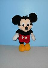 "Walt Disney Co. 14"" Mickey Mouse Plush By Playskool #70130 Classic Red Pants"