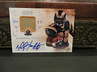 National Treasures Autograph Jersey HOF Auto Rams Marshall Faulk 39/50  2013