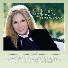BARBRA STREISAND - PARTNERS: DELUXE EDITION CD ALBUM (September 15th 2014)