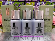 3 x Clinique Repairwear Laser Focus Serum Smooths Restores Corrects *SERUM*◆7ml◆
