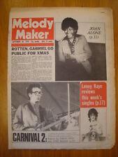 MELODY MAKER 1978 SEP 30 COSTELLO JOHNNY ROTTEN GABRIEL