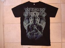 Avenged Sevenfold 7fold Christian Heavy Metal Skeleton King Black T Shirt M