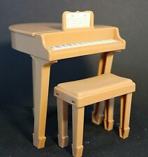 "Barbie ~ other 12"" Fashion Doll - Piano and Bench from Hannah Montana playset"