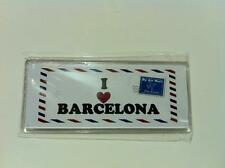 ▓ I LOVE  BARCELONA ACRYLIC REF/FRIDGE MAGNET COLLECTIBLE SOUVENIR