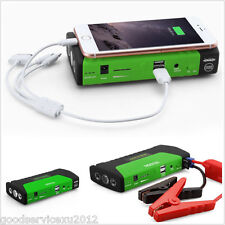 2-USB Charger Emergency 3 LED Light 16800mAh Car Power Bank Jump Starter Battery
