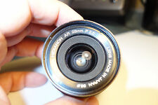 Konica Hexanon AR 28 3.5 lens made in Japan for Konica mount