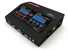 Ultra Power 400 AC DC Duo NIMH LIPO Charger (400W x1 or 200W x2) #UP400ACDUO RC