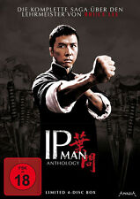 IP MAN ANTHOLOGY  Teil 1 2 3 4 Limited Edition  QUADRILOGY 4 DVD Box Neu