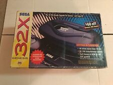 Sega Genesis 32X Black Console Complete CIB